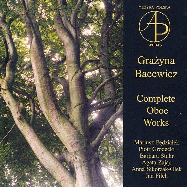 Grażyna Bacewicz - Complete Oboe Works