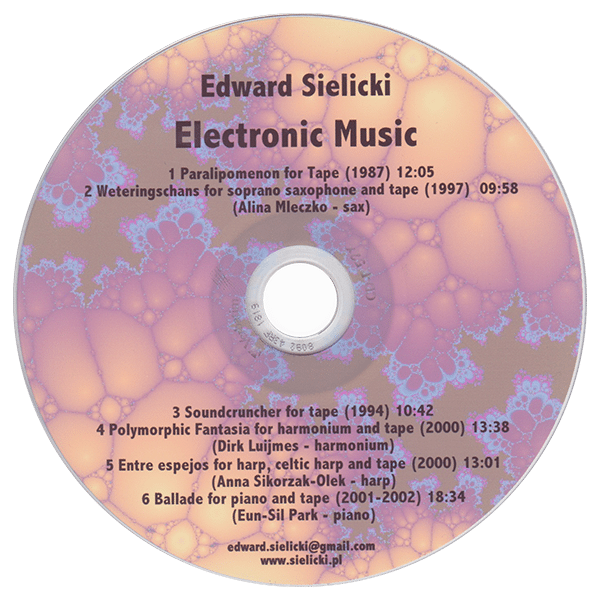Edward Sielicki - Electronic Music