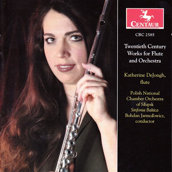 Twentieth Century Works for Flute and Orchestra