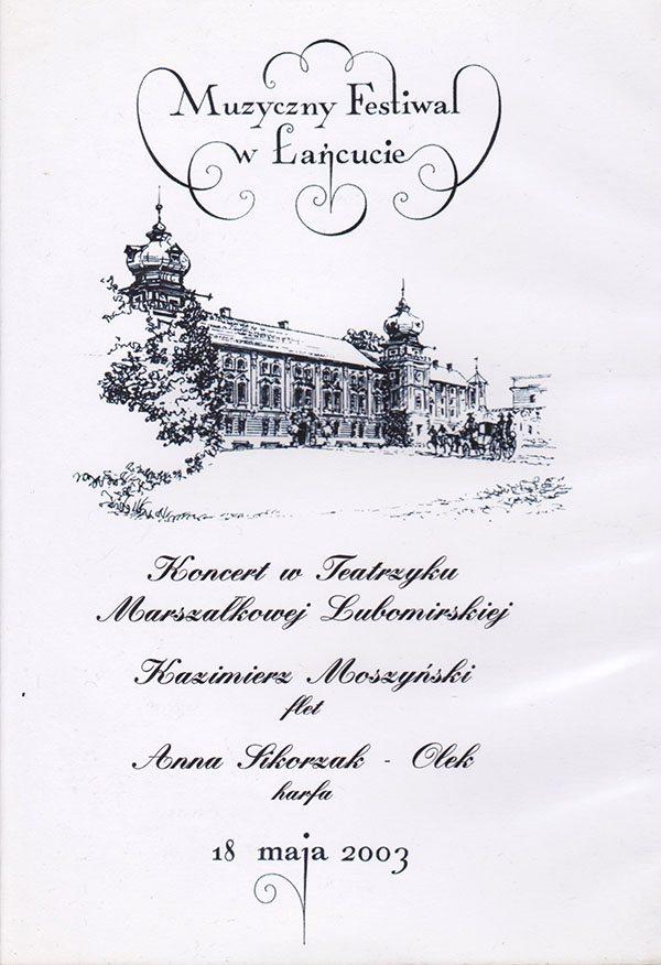 Muzyczny Festiwal w Łańcucie
